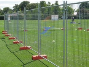 Galvanized Australia Temporary Fencing with Plastic Feet (TS-L06) pictures & photos
