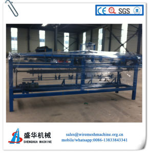 High Quality Full Automatic Chain Link Fence Machine pictures & photos