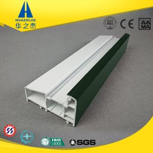 Multiple Shape Customized Plastic Extrusion UPVC Profile pictures & photos