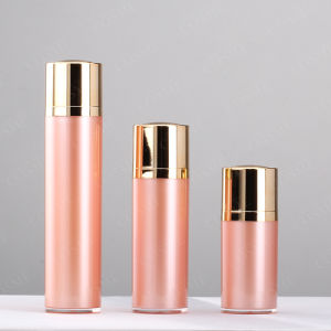 15ml 30ml 40ml 50ml Luxury Skincare Cosmetic Packaging Rotation Airless Plastic Lotion Bottle pictures & photos