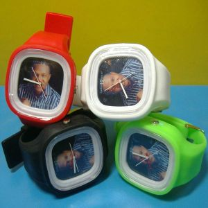 Election Campaign Promotional Silicone Watch pictures & photos