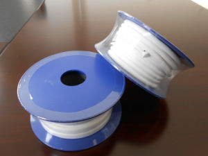 White Expanded PTFE Elastic Ribbon/ Tape/ Band for Industrial Seal pictures & photos