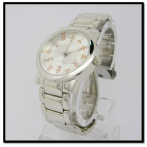 Stainless Steel Watches New Hot Selling Factory Directly Swiss Mov′t Stainless Steel Band pictures & photos
