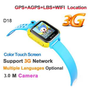 3G Touch Screen Kids GPS Smart Watch (D18) pictures & photos