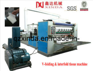 Full-Automatic 7 Lanes Box-Drawing Face Tissue Paper Making Machine pictures & photos