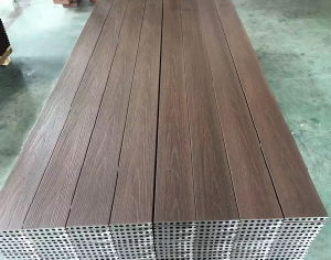 WPC Co-Extrusion Decking pictures & photos