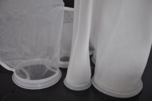 Nylon Mesh Liquid Filter Bags with Plastic Collar for Swimming Pool pictures & photos