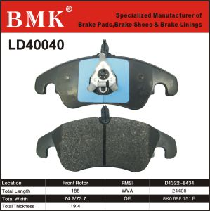 High Quality Brake Pad (Ld40040) for Audi pictures & photos