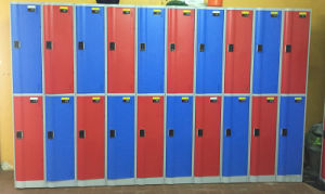 ABS Plastic Gym Locker Made in China pictures & photos