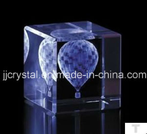 Crystal Edge Protection Cube for Laser or Engraving pictures & photos