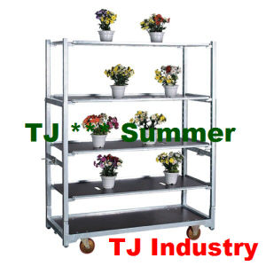 Stainless Steel Plant Display Cart pictures & photos