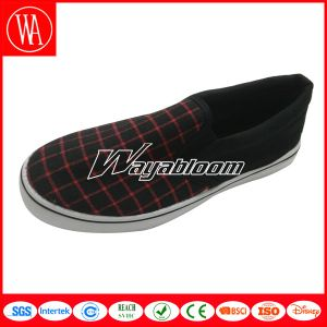 Flat Women Shoes Slippers Canvas Casual Shoes pictures & photos