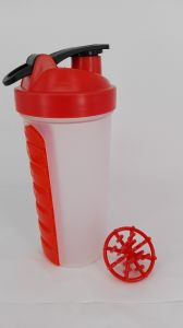 Good Quality 700ml Plastic Smart Shaker with Pillbox in Container pictures & photos