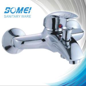Economic Single Handle Brass Ceramic Cartridge Bath Mixer Faucet (BM51001) pictures & photos
