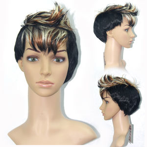 Cheap Wholesale Hair Synthetic Short Hair Wig