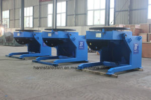 Welding Positioner Loading 600kg with Chuck for Workpiece pictures & photos