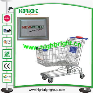 Aluminum Shopping Cart Front Display Board pictures & photos