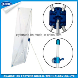 Display Stand with Carbon Fiber Tube X Banner (aluminum) pictures & photos