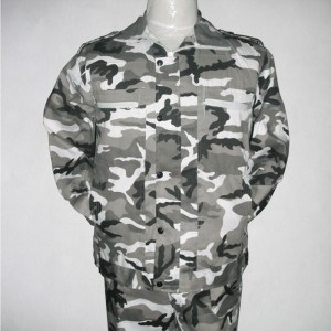Waterproof Twill Polyester Cotton Camouflage Military Fabric pictures & photos
