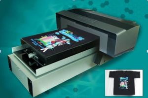 Digital White Ink Tshirt Printer pictures & photos