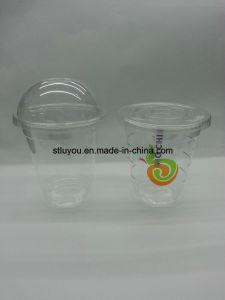 Disposable Pet Transparent Plastic Dome Lid Flat Lid pictures & photos