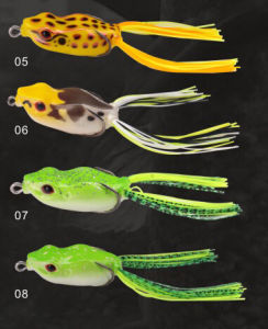 Black Fish Lure Hand Make Frog Lure Soft Lure pictures & photos