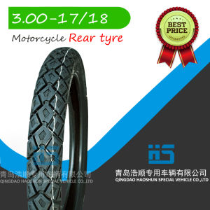 Motorcycle Spare Parts Motorcycle Tyre 3.00-17 pictures & photos