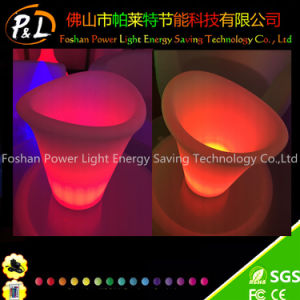 Color Changing Nightclub Decorative LED Ice Cooler pictures & photos