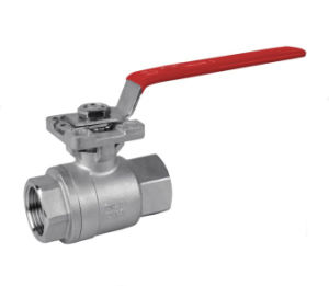 2PC Ball Valve ISO5211 Direct Mounting Pad pictures & photos