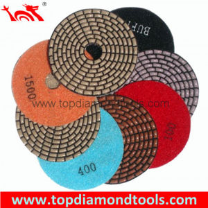 Resin Bond Diamond Dry Polishing Pads pictures & photos