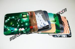 Design Flip/Zooming/Morphing/Animation Effect 3D Cup Coaster pictures & photos