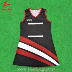 Healong Best Sublimated Padded Netball Skirt pictures & photos