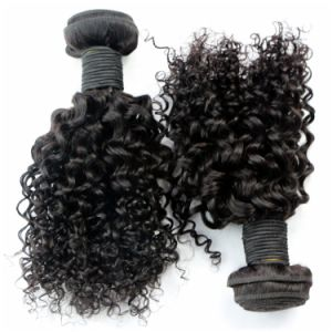Jerry Curl Brazilian Virgin Hair Weave pictures & photos