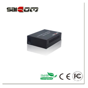 10/100m, SingleMode Dual Fiber, 1550nm(DFB), 80km, Fiber Media Converter pictures & photos