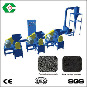 Super Fine Rubber Powder Making Machine / Rubber Powder Superfine Miller pictures & photos