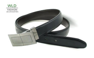 Classic and Basic Man Belt with Split Leather Linning M717 pictures & photos