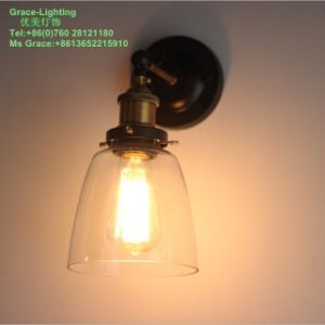 Nordic Style Post Modern Glass Wall Lamp (GB-0407-1) pictures & photos