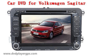 Car DVD Player for Volkswagen Sagitar with TV/Bt/RDS/IR/Aux/iPod/GPS pictures & photos