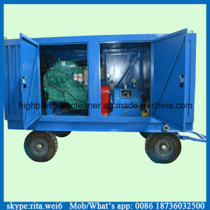 70~100MPa Electric Industrial High Pressure Water Jet Cleaner pictures & photos