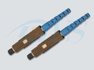 Mu Singlemode Fiber Optic Connector pictures & photos