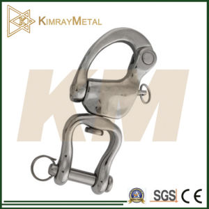 Stainless Steel Swivel Snap Shackle with Jaw pictures & photos