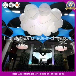 Inflatable LED Lighting Clouds for Party Stage Events Wedding Decoration