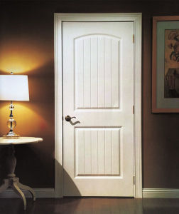 White Primed Hollow Core HDF Moulded Door Supplier pictures & photos