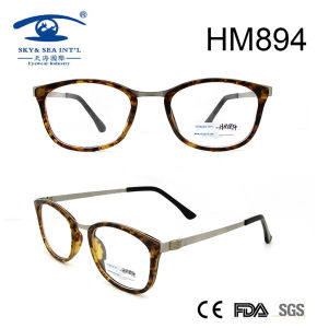 Hot Sale Fashion Handmade Acetate Optical Frame Eyeglasses (HM894) pictures & photos