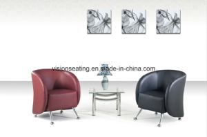 Modern Leather Sofa Reception Visitor Guest Room Tub Chair (9103) pictures & photos