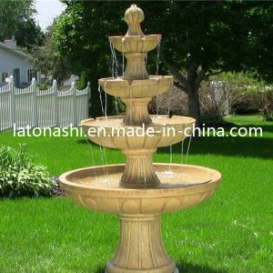 4 Tier Stone Garden Water Fountain for Outdoor Decoration pictures & photos