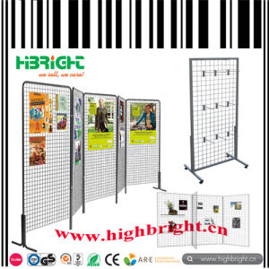 Metal Frame Wire Mesh Grids Display Panel Stand pictures & photos