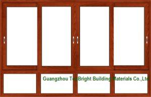 Wood-Clad Aluminum Sliding Windows Frames Designs pictures & photos