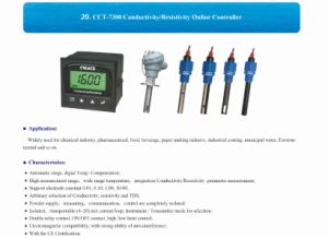 CCT-7300 Conductivity and Resistivity Online Controller pictures & photos
