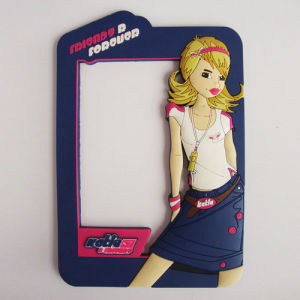 Beautiful Girl Popular High Quality PVC Photo Frame